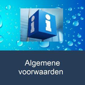 info-algemene-voorwaarden-water-drop-background