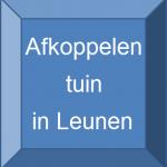 Knop Tuin in Leunen